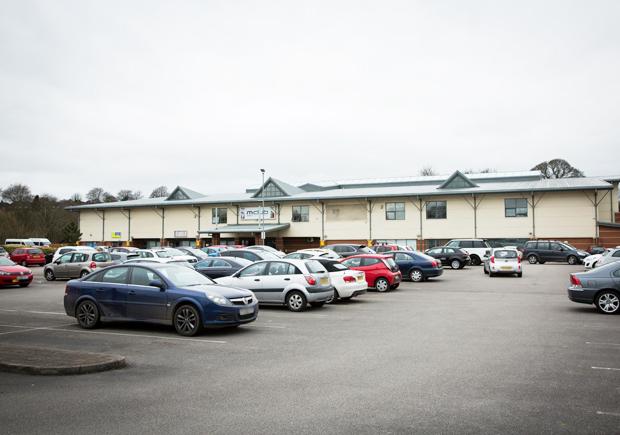 M Club 2 Newcastle car park