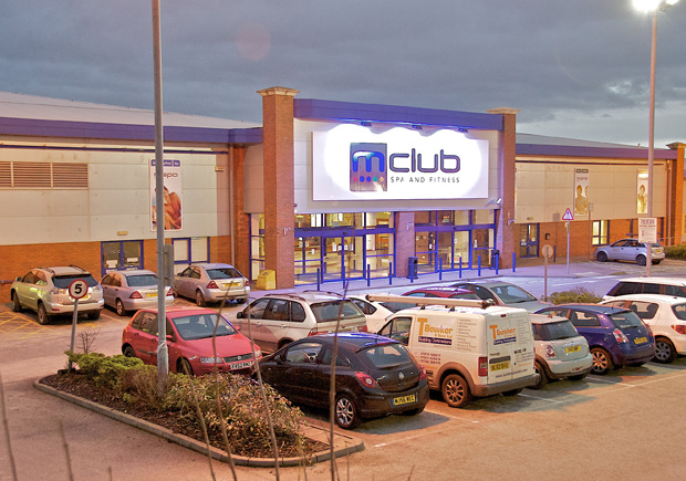 M Club Spa and Fitness car park