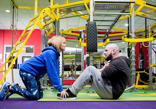 M Club trainers offer personal training programmes