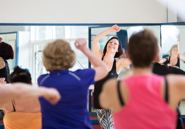 M Club Spa and Fitness trainers