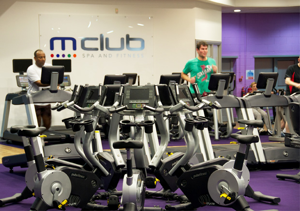 M Club equipment
