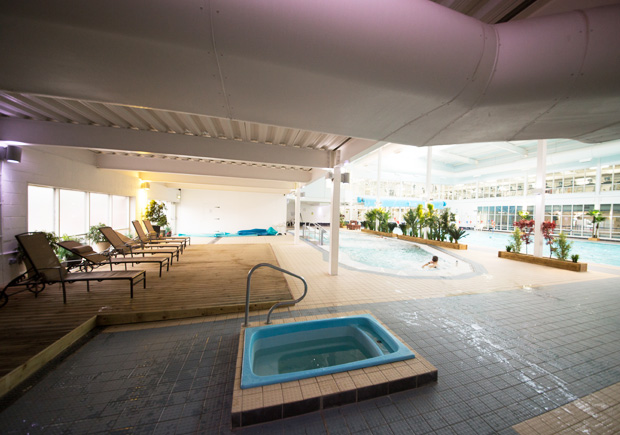 M Club Spa and Fitness pool area