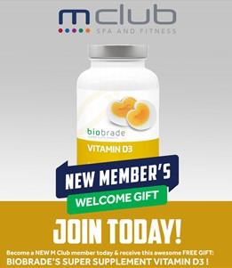 Free New Member gift