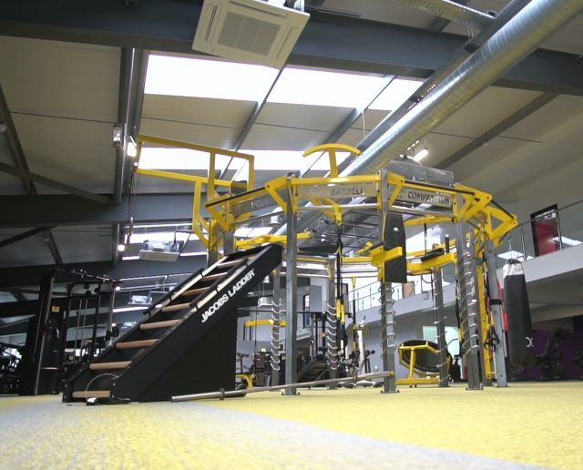 New M Club Spa and Fitness Hanley Functional Training Rig