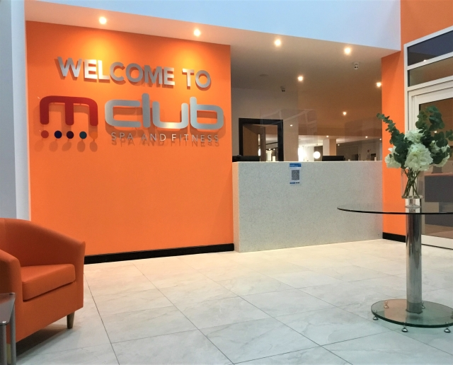 New M Club Spa and Fitness Hanley Foyer