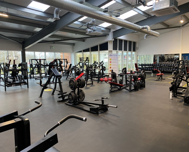 New M Club Spa and Fitness Hanley gym floor